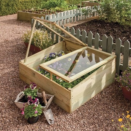 Timber coldframe - softwood