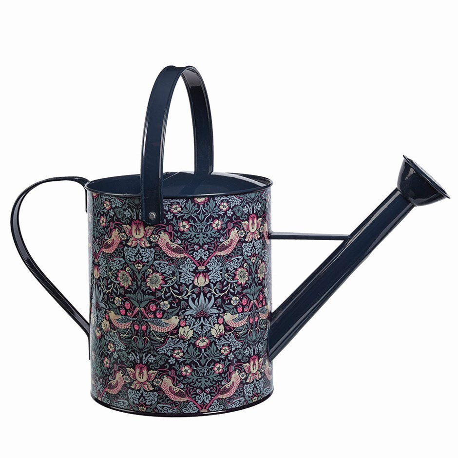 Strawberry thief watering can