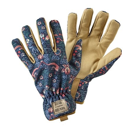 Strawberry thief gardeners gloves