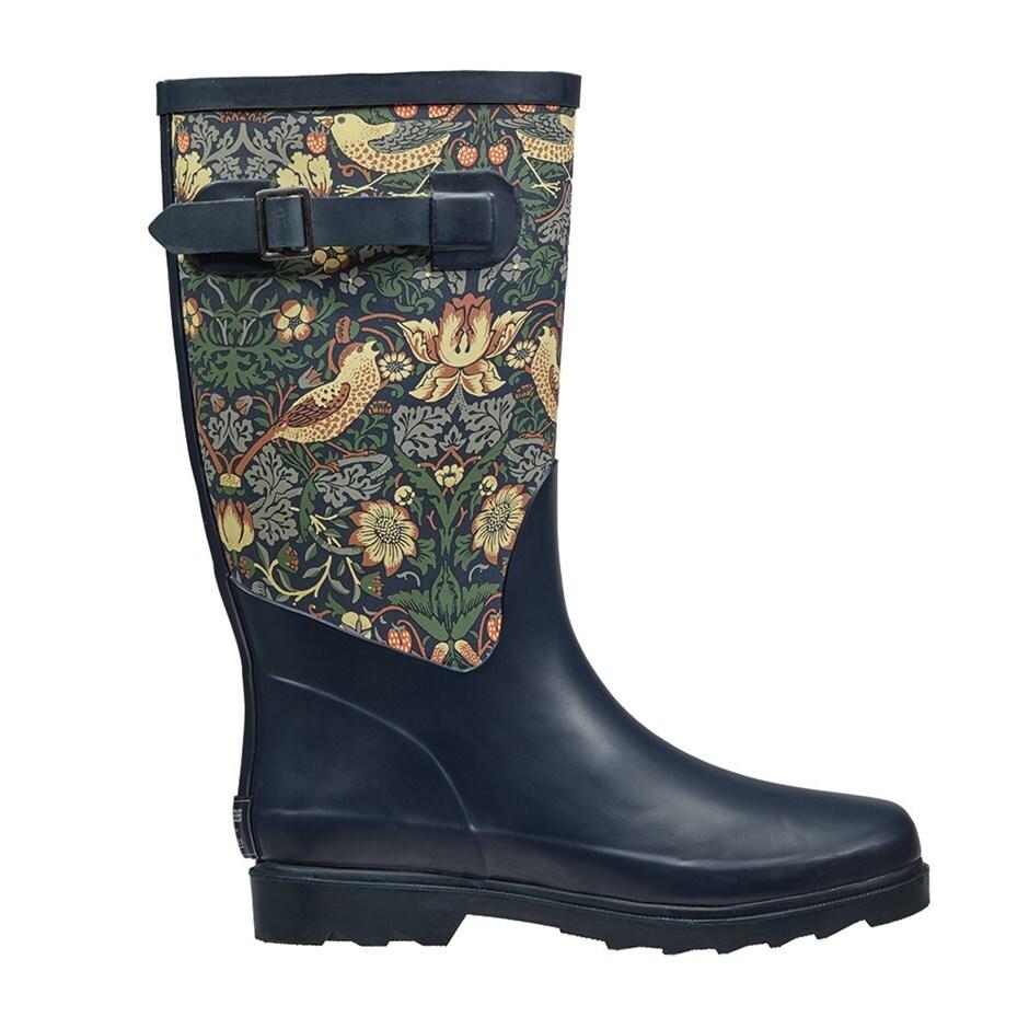 Strawberry thief wellington boots