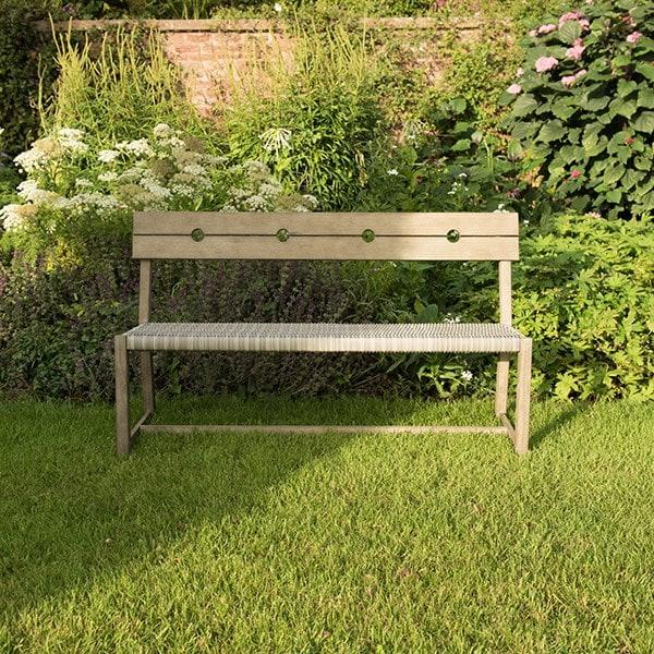 Oban rattan bench