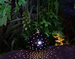 Solar starry nights hanging light