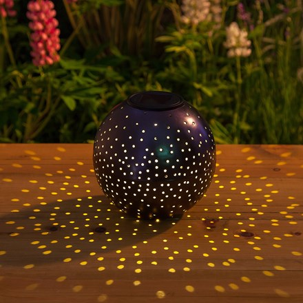 Solar starry nights table light
