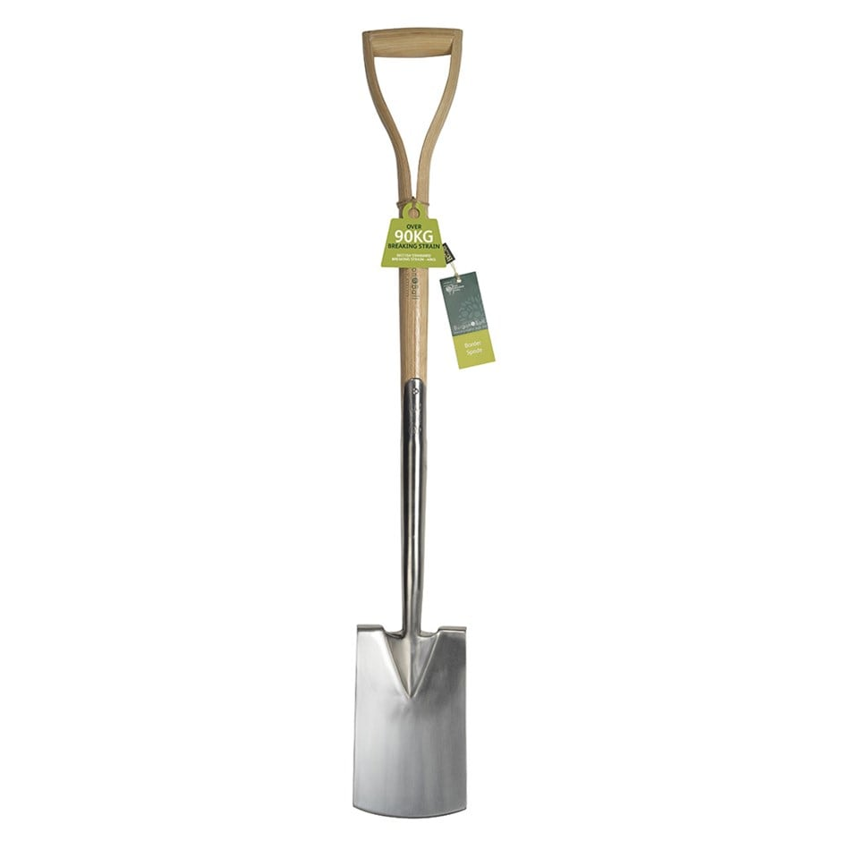 RHS Burgon and Ball stainless border spade