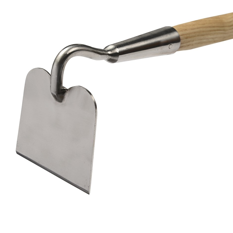 RHS Burgon and Ball stainless draw hoe
