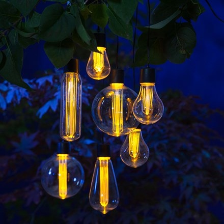 The solar bulb string of 7