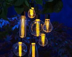 The solar bulb string of 7