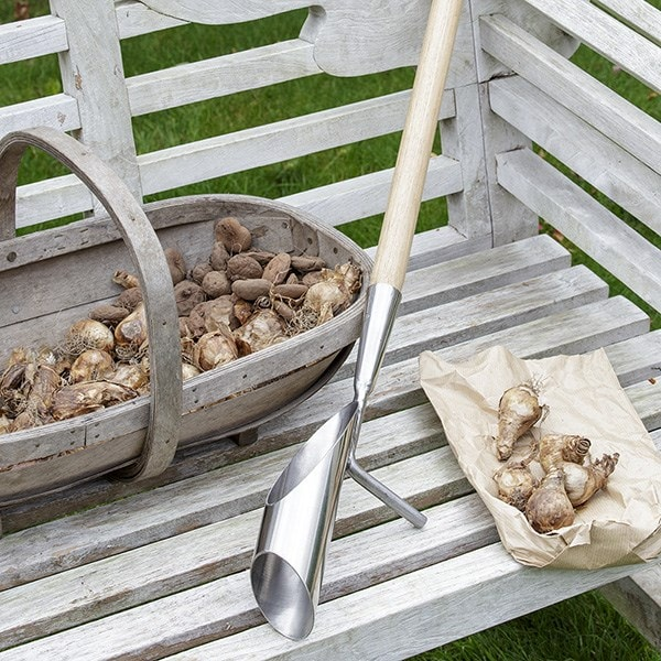 RHS Burgon and Ball long handled bulb planter