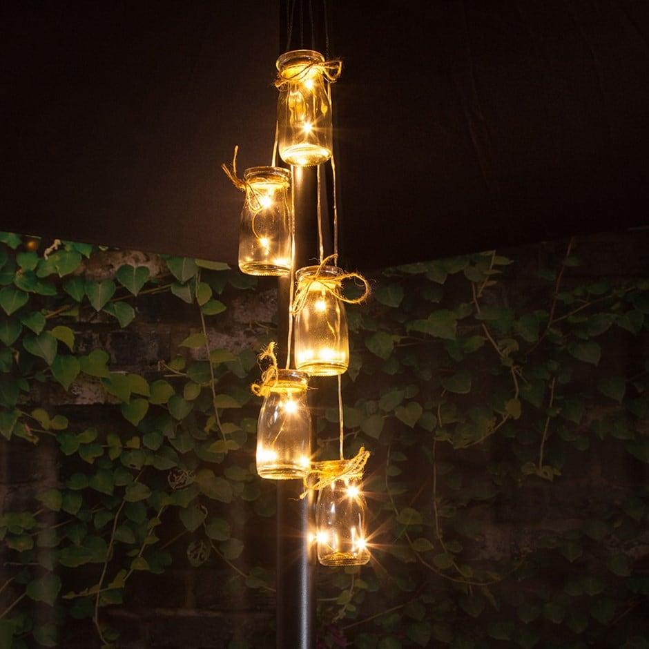 Buy 5 Bottles Led Parasol Cluster Lights Delivery By