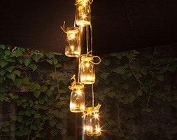 5 bottles LED parasol cluster lights