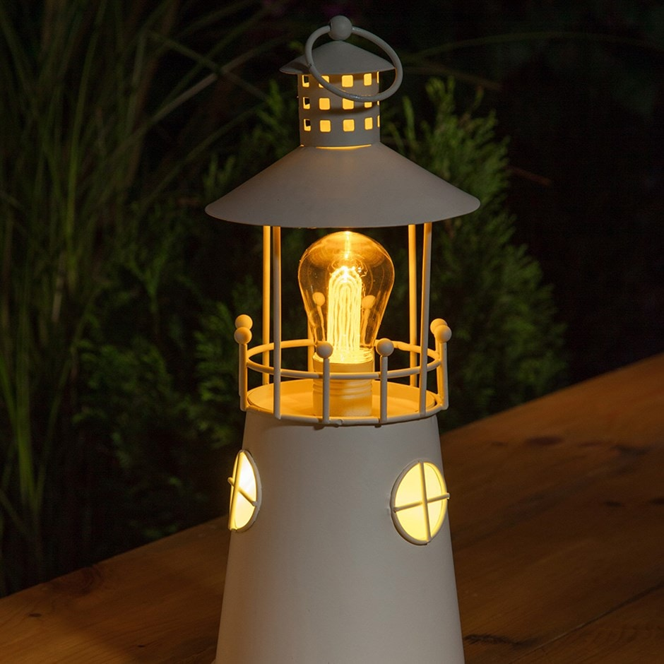 Buy Metal Lighthouse Lantern Delivery By Waitrose Garden