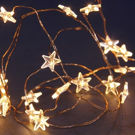 50 solar copper wire star multi function LEDs