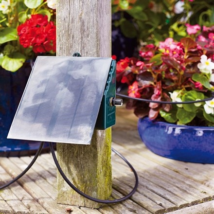 Solar automatic watering system