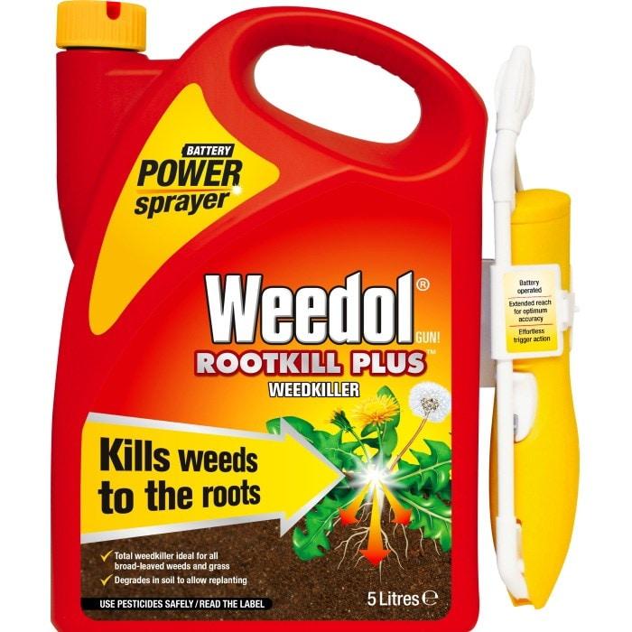 Weedol rootkill plus power sprayer