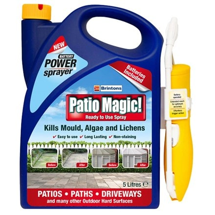 Patio magic ready to use spray