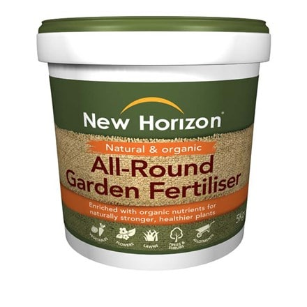 New Horizon all round fertiliser tub