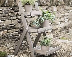 Wooden pot ladder