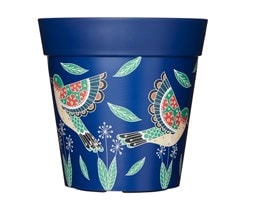 Hummingbirds in flight pot