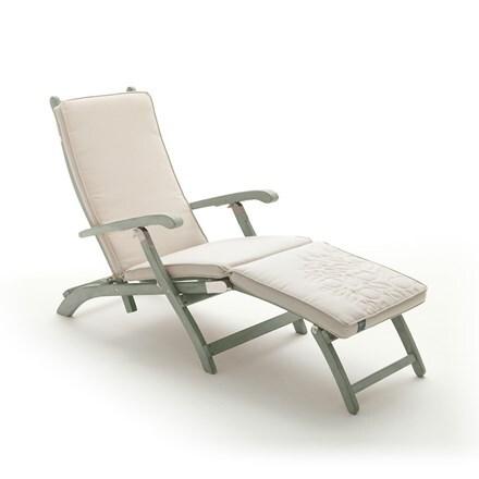 RHS Kettler rosemoor acacia steamer chair