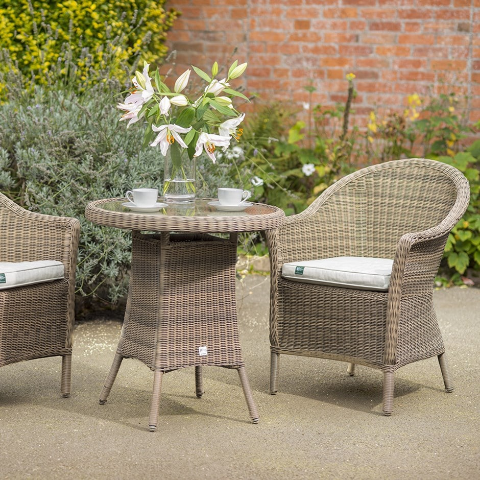 Buy Rhs Kettler Harlow Carr 2 Seat Bistro Set Delivery By