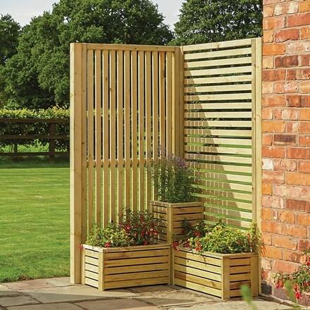 Garden creations screening corner set