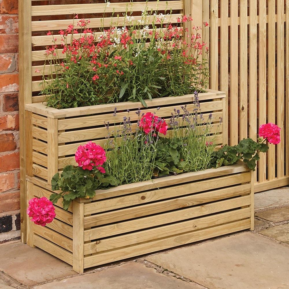 Garden Creations Outdoor Tiered Planter