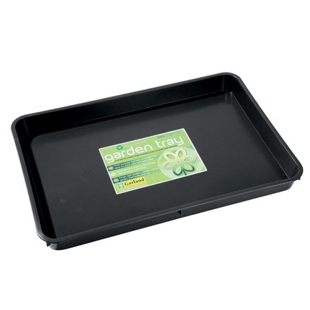 Garden tidy tray black