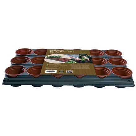 Professional potting on tray 18 pots