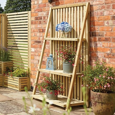 Garden creations outdoor plant stand