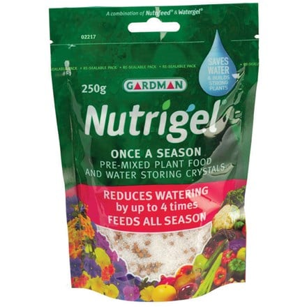 Nutrigel water retaining granules