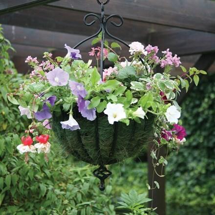 Spanish style hanging basket