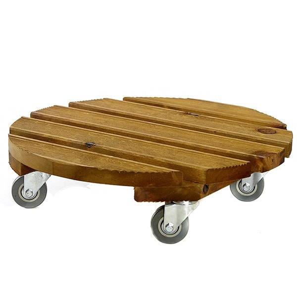 Traditional FSC wooden pot mover