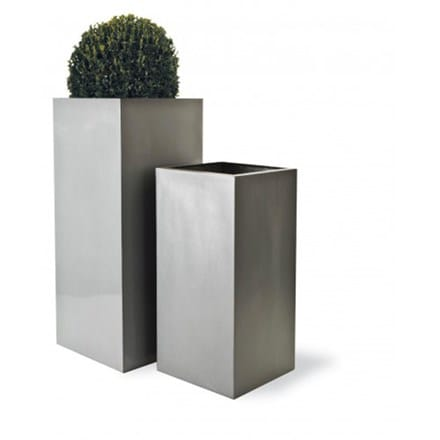 Geo square lightweight planter