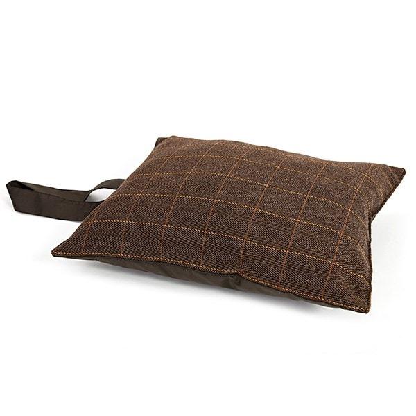 Tweedmill picnic cushion/garden kneeler