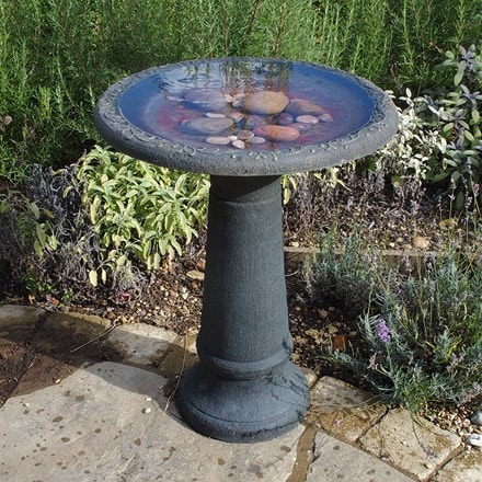 Coniston tall bird bath column