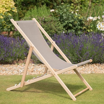 Garden deck chair