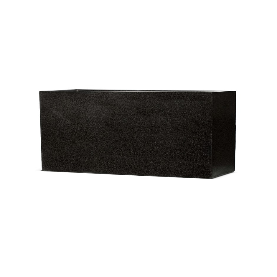 Cadix black middle envelope planter