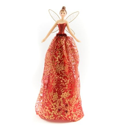 Resin tree top fairy