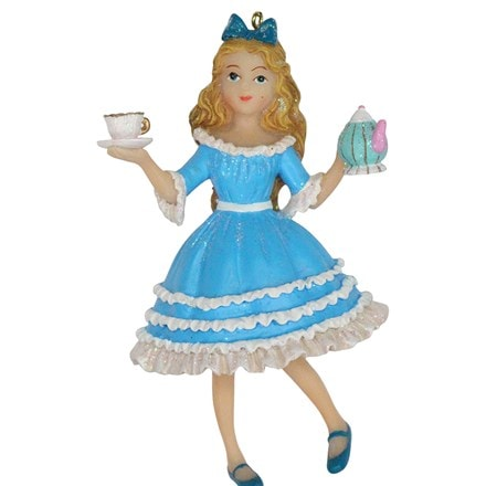 Resin Alice in Wonderland decoration