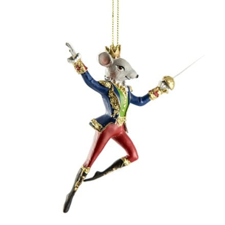 Nutcracker king rat resin decoration