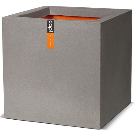 Tutch square planter grey