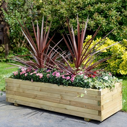 Elite rectangular planter