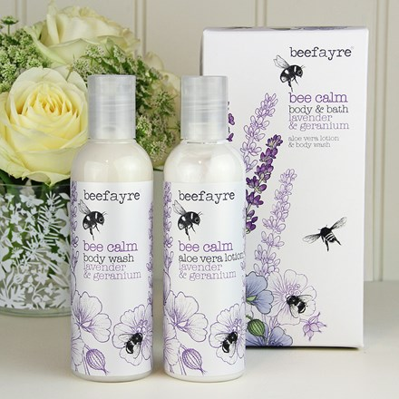 Bee body and bath set