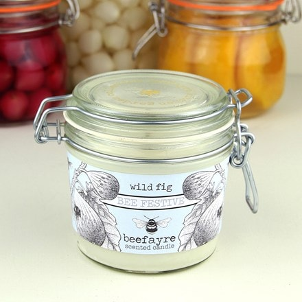 Kitchen jar candle