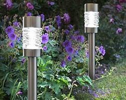 Martello stainless steel solar stake lights
