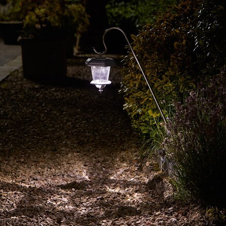 Hansom stainless steel solar lanterns