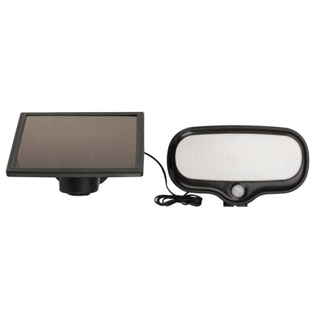 PIR security solar floodlight