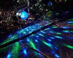 Carnival solar spotlights