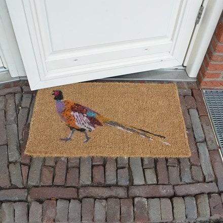 Pheasant coir doormat