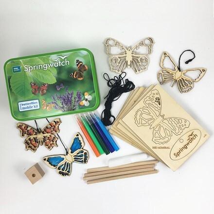 Springwatch british butterflies kit